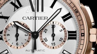 Calibre de Cartier chronograph watch Trends and style