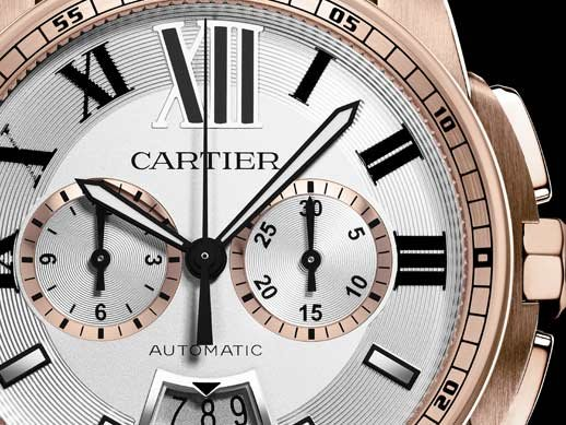 Cartier - Calibre de Cartier chronograph watch