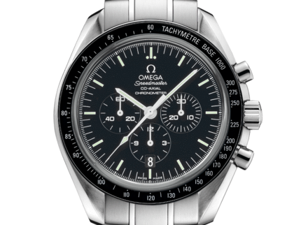 Omega - Wearing the Co-axial Speedmaster -