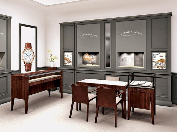 A. Lange & Söhne - New boutiques in Moscow and New York