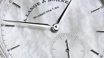 Saxonia, white dial Trends and style