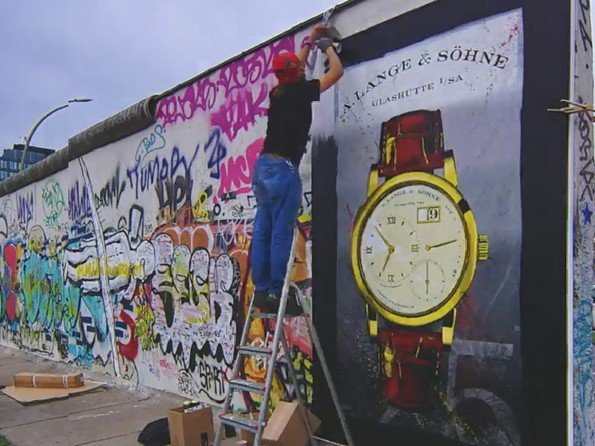 A. Lange & Söhne - Vidéo. 25th anniversary of the fall of the Berlin Wall