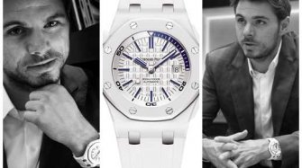 Stan Wawrinka et son Audemars Piguet Royal Oak Offshore Diver Sport