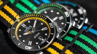 Four colourful Anonimo Nautilo models that are perfect for summer