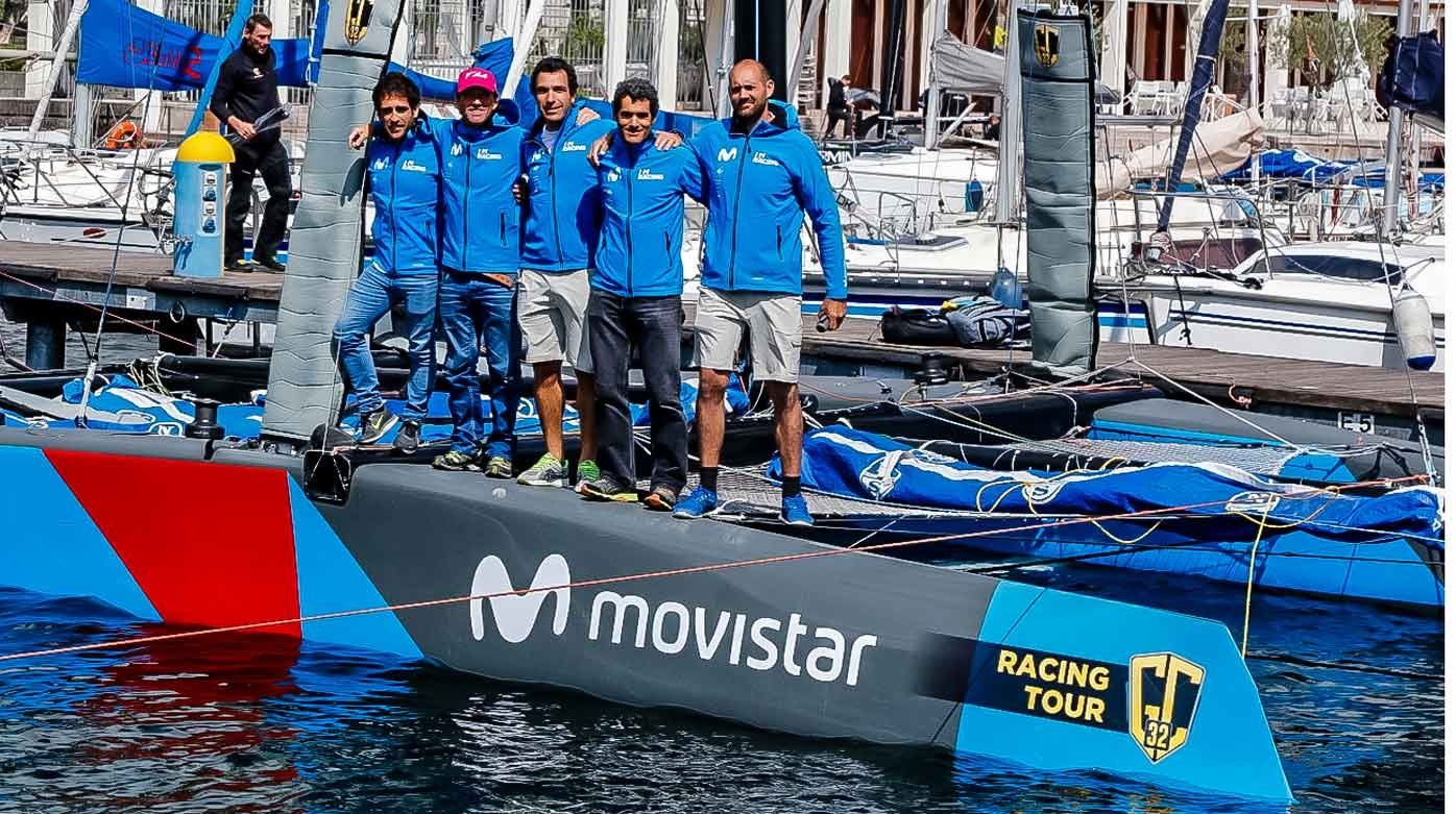 Anonimo - New watch partner of the GC32 Racing Tour