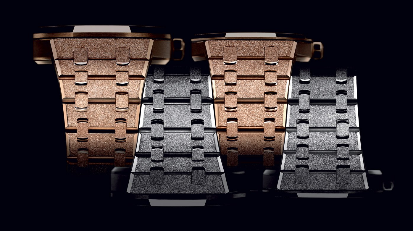 Audemars Piguet - The making of a Royal Oak Frosted Gold