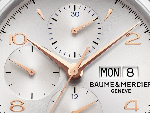 Baume & Mercier  - Chronographe Clifton 10130