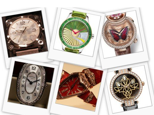 """Baselworld 2015 - My """"best-of"""" selection of ladies' models"""