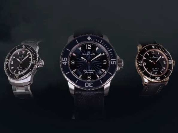 Blancpain - Video. Fifty Fathoms collection