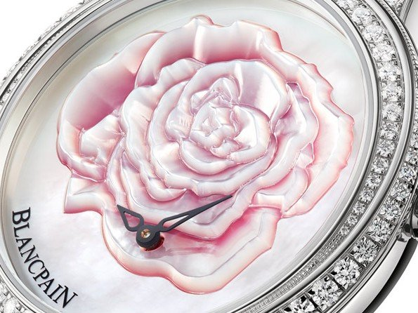 Blancpain - A rose for Valentine's Day 2015
