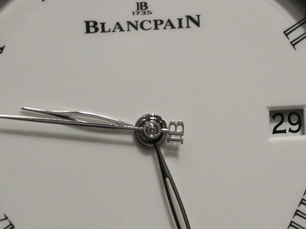 Blancpain - Baselworld 2014 : an almost all-white year… with a splash of black