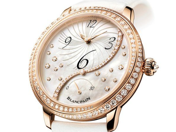 Blancpain  - Women, Off-centred Hour, retrograde small seconds