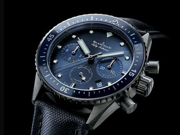 Blancpain - Ocean Commitment: a watch, a book and a website