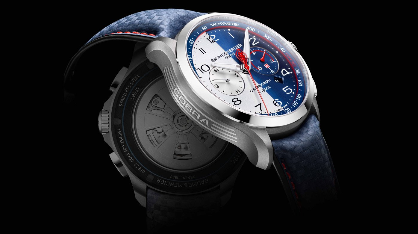 Baume & Mercier - Collection Clifton Club Shelby® Cobra