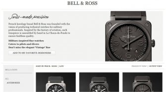 Bell & Ross now available on Mr Porter Brands