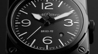 Win a Bell & Ross BR 03-92 Black Ceramic watch worth CHF 4,300