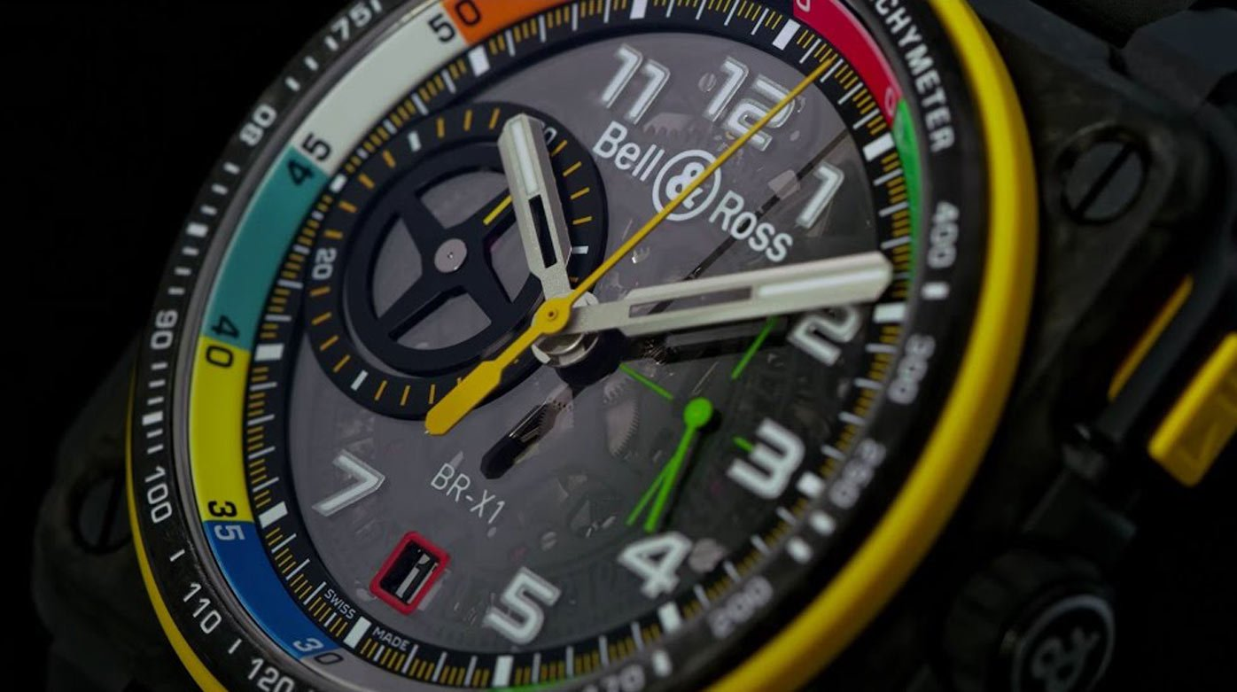 Bell & Ross - BR-RS17 – Chronographs designed like a F1 engine