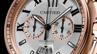 Calibre de Cartier, pink gold