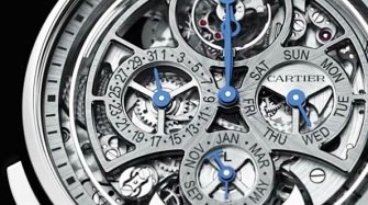 Video. Rotonde de Cartier Grande Complication Skeleton Trends and style