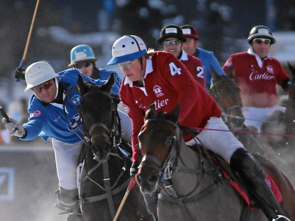Cartier - Winner of the Snow Polo World Cup