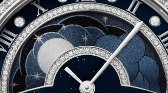 Rotonde Day and Night watch with retrograde moon phases Innovation and technology