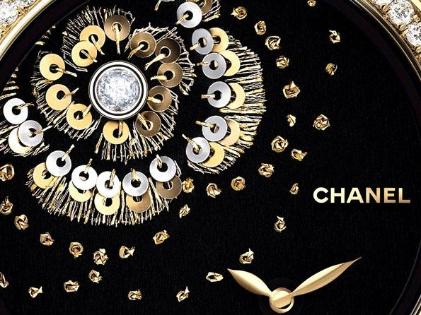 Chanel - Mademoiselle Privé Watch with Embroidered Camellia