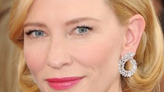 With Cate Blanchett the red carpet turns green