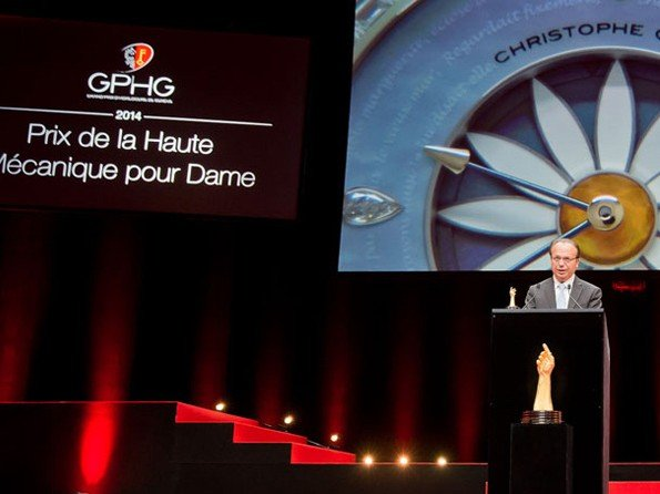 Christophe Claret - Margot crowned winner at the GPHG