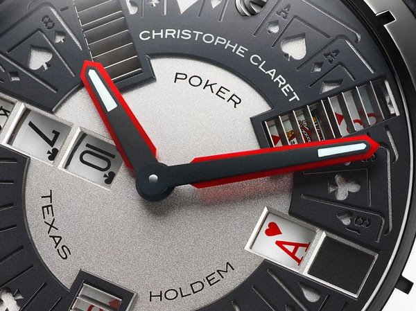 Christophe Claret - The first Poker delivered in Asia