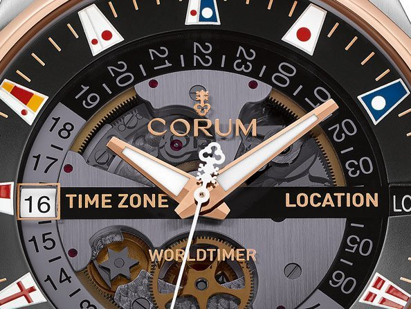 Corum - Admiral's Cup Legend 47 Worldtimer