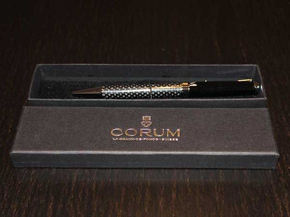 Win a Corum pen - A new competition every day