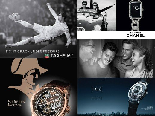 Watchmaking marketing - New advertising campaigns