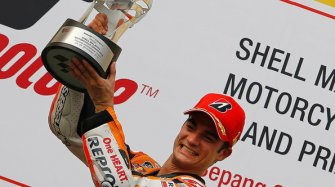 Two victories in MotoGP for Dani Pedrosa