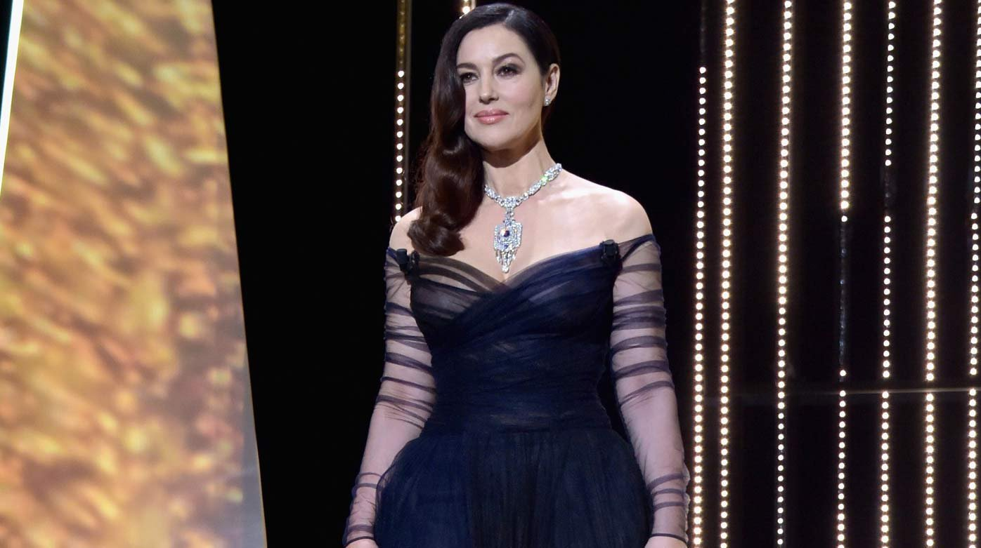 Cartier - Monica Belluci shines in Cartier at the Cannes Film Festival