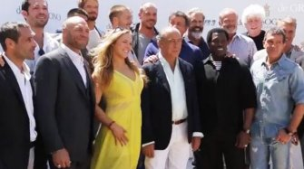 Video. The Expendables 3 at Cannes Festival