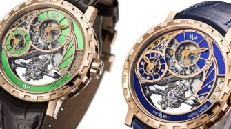 Academia Grand Tourbillon, blue, green Trends and style