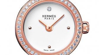 Montre Faubourg, or rose
