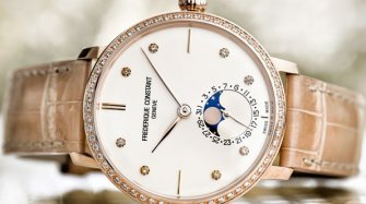 Slimline Moonphase Manufacture  Style & Tendance