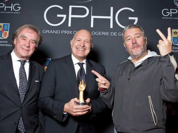 GPHG 2013 - The Aiguille d'Or goes to Girard-Perregaux