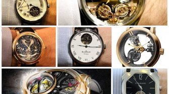 The contenders in the tourbillon category  Arts and culture