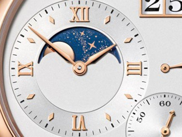 A. Lange & Söhne - Vidéo. An inside view: the moon-phase display