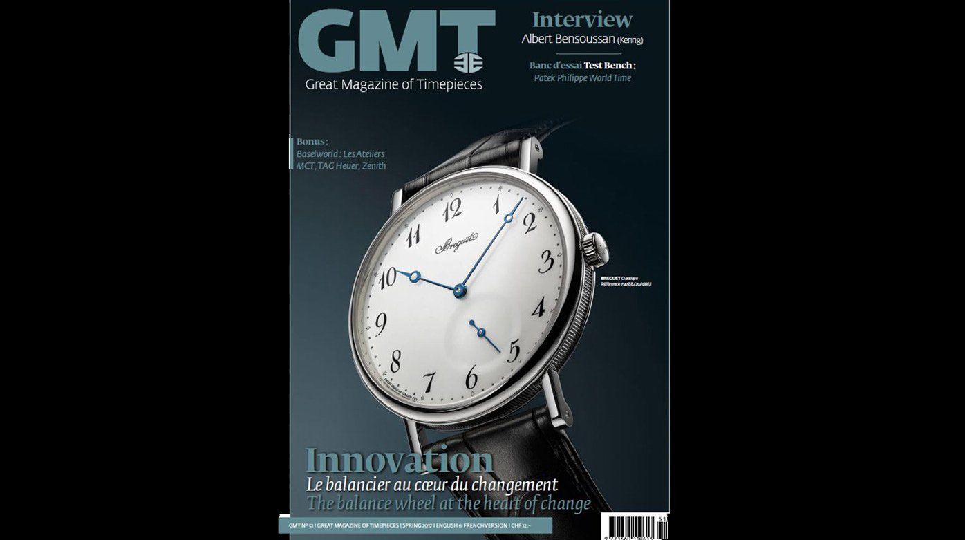 GMT Magazine - The Baselworld issue is out