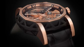 MasterGraff Structural Skeleton Automatic with flying tourbillon Trends and style