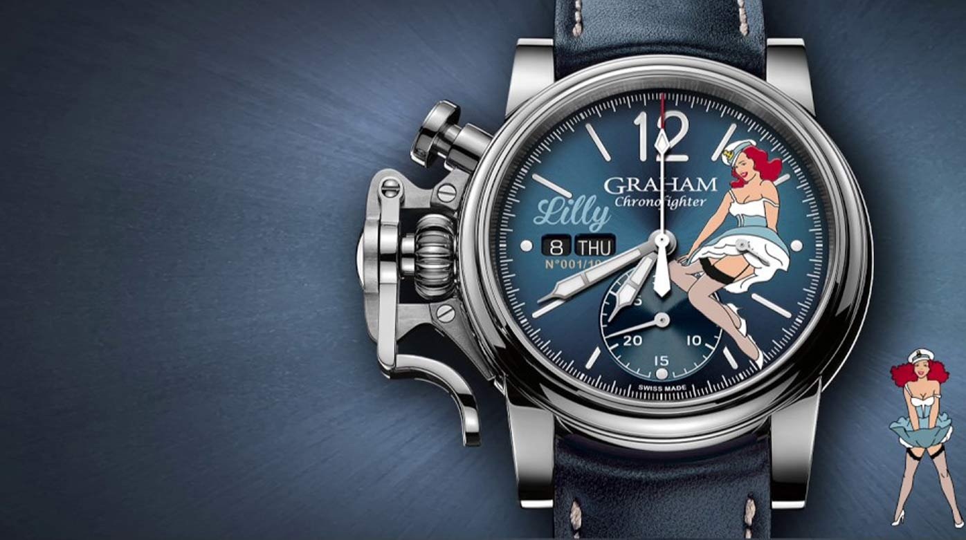 Graham - Chronofighter Vintage Nose Art