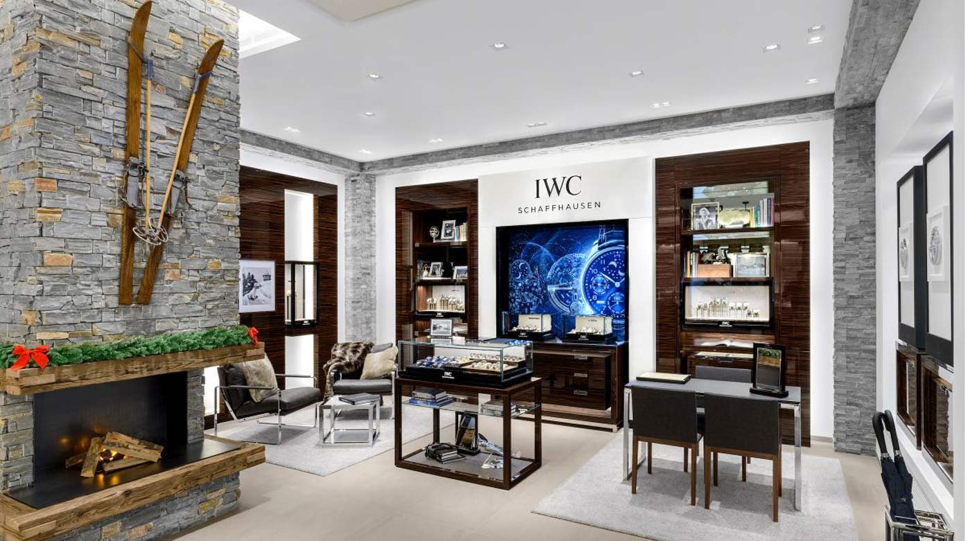 IWC - New boutique in St.Moritz