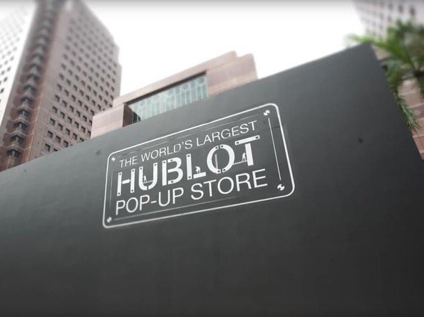 Hublot  - Vidéo. Pop-Up Store in Singapore