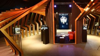 Largest Hublot pop-up in the world