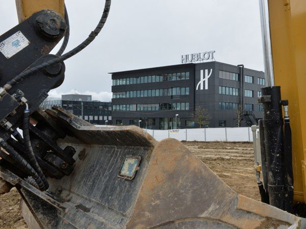Hublot - First ground broken at the new manufacture