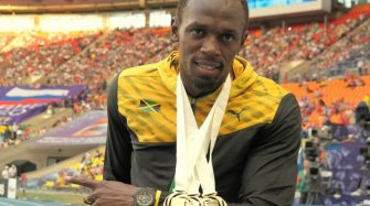3 Gold Medals for Usain Bolt