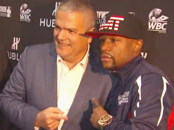 Hublot - Video. Mayweather, the fight of the century